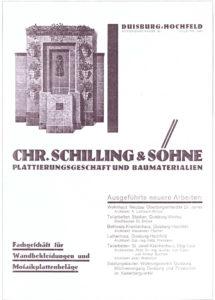 Hintergrund Alte Werbung